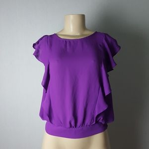 Forever21 Purple Blouse Size M